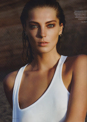Daria Werbowy Elle Magazine Wallpapers