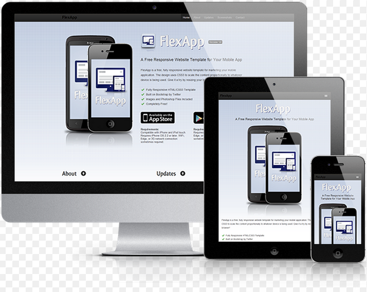 css responsive template