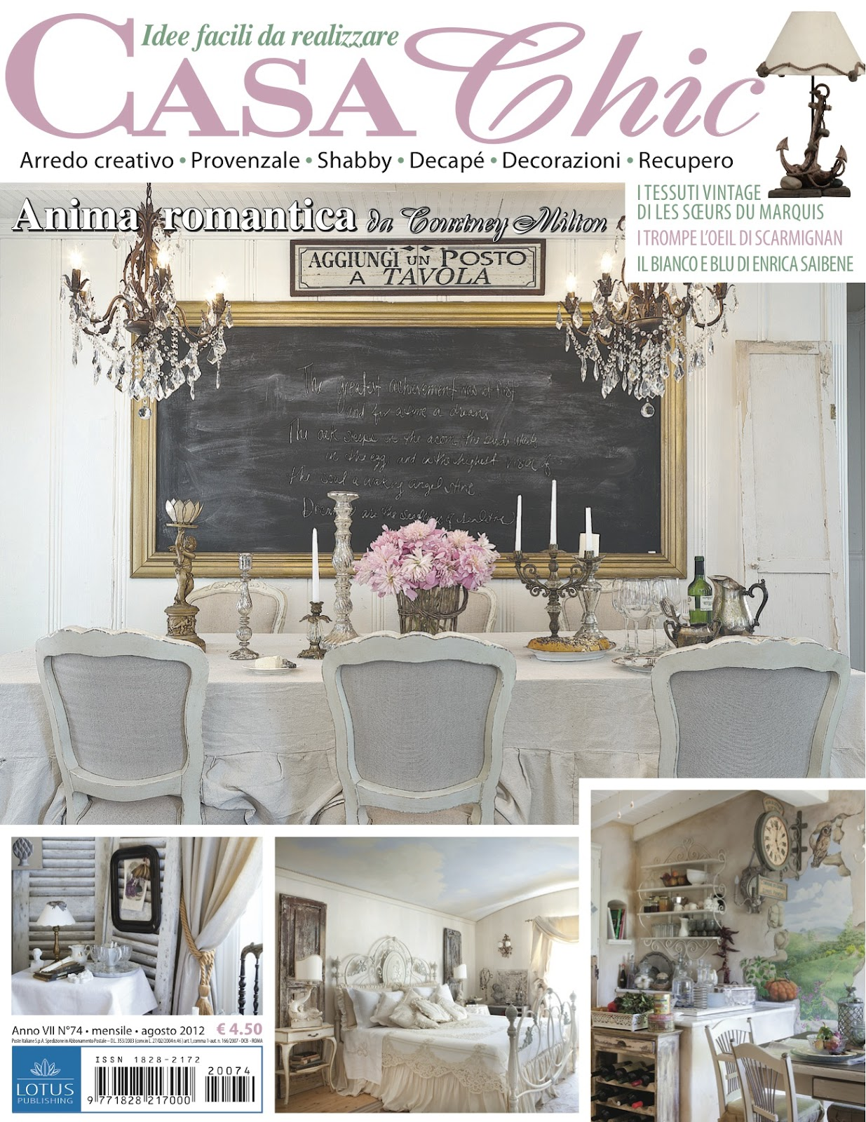 Maison chic magazine french country cottage for Country cottage magazine