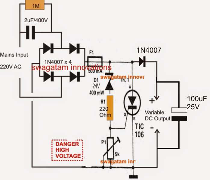 Variable Surge Free High Current Transformerless Power