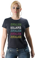 Camiseta Namorada Roqueira The Killers 02