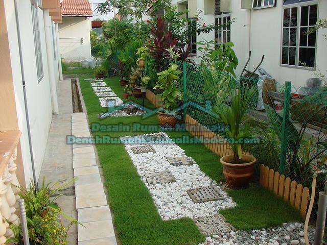 taman rumah minimalis modern untuk penyeimbang konsep rumah