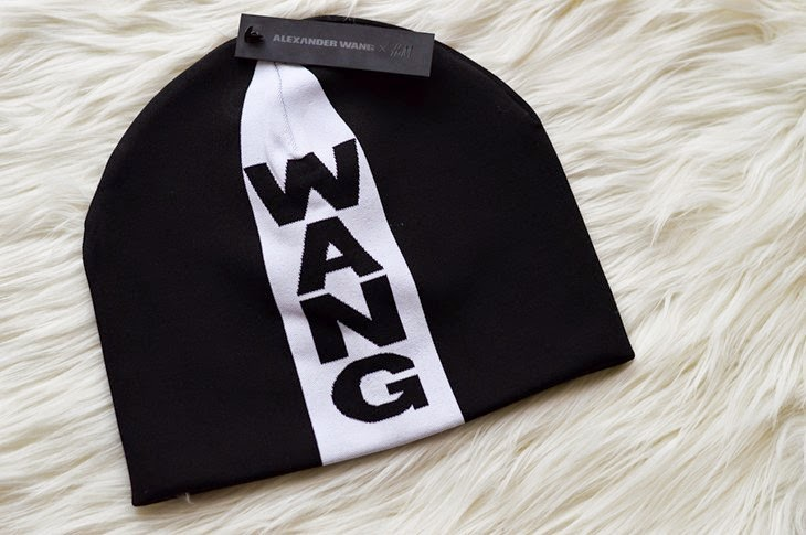 Alexander Wang x H&M designer collaboration full collection pictures photos Jacquard-knit hat beanie with logo thesparklingcinnamon