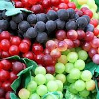 manfaat buah anggur dan resep puding