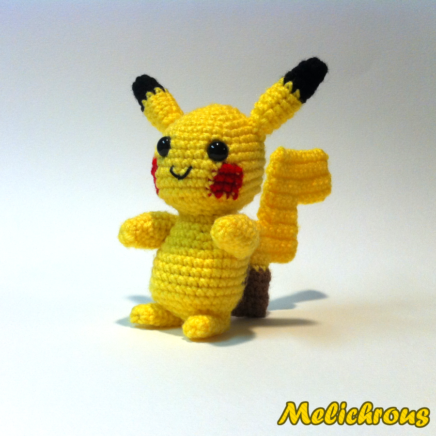 Crochet Patterns Pokemon Characters : Melichrous: Pikachu Pattern