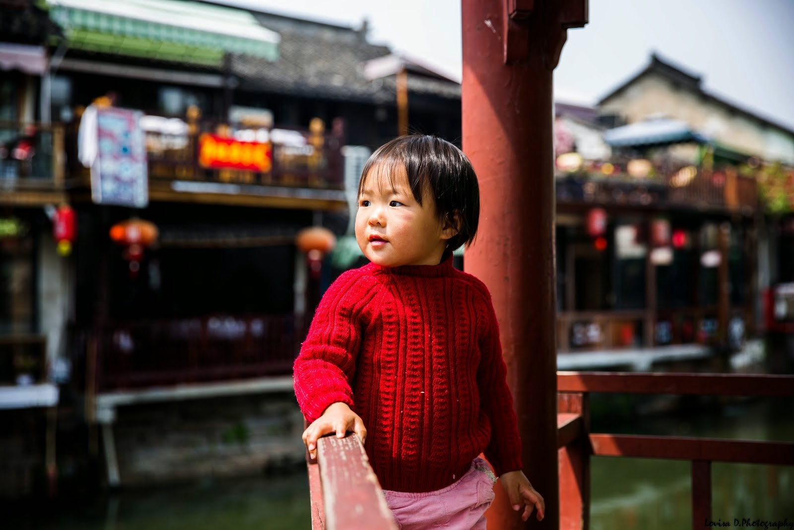 The little girl from Zhujiajio