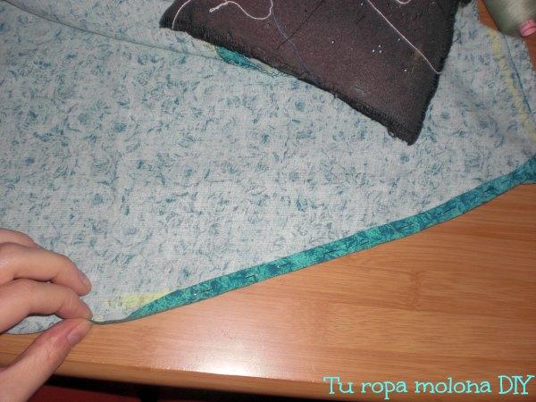 coser dobladillo