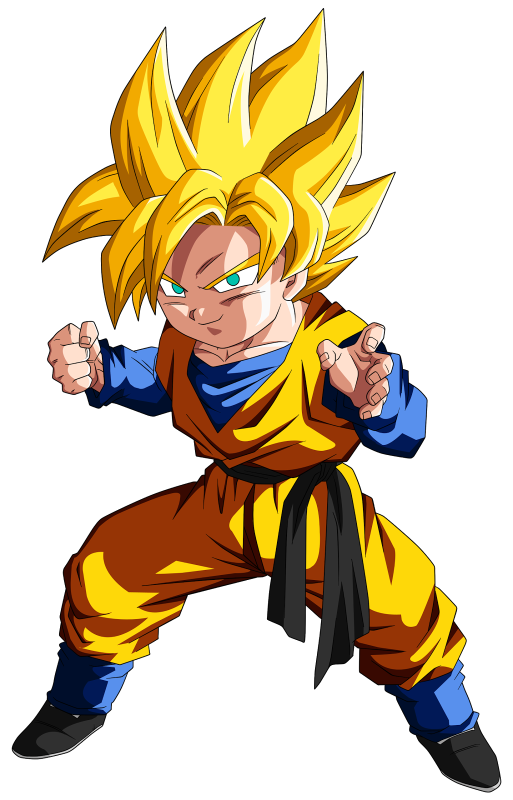 Tudo dragon ball personagens hd - Super sayenne ...