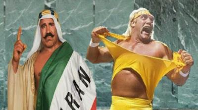Iron Sheik Hulk Hogan
