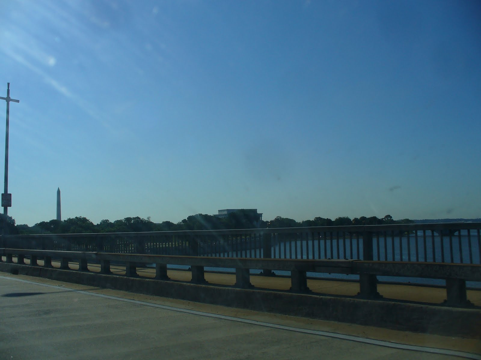 My notting hill blog - I Actually Love My 9 Mile Commute From N Arlington Into Dc Via The Roosevelt Bridge Over The Potomac Off To The Right Is The Washington Monument And The