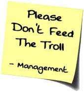 hey troll posting year ginger tv internet blogging health Don t feed the Trolls