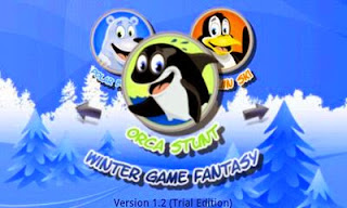 Screenshots of the 3D Winter Game Fantasy for Android tablet, phone.