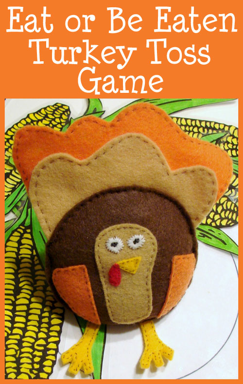 turkey toss beanbag game, thanksgiving