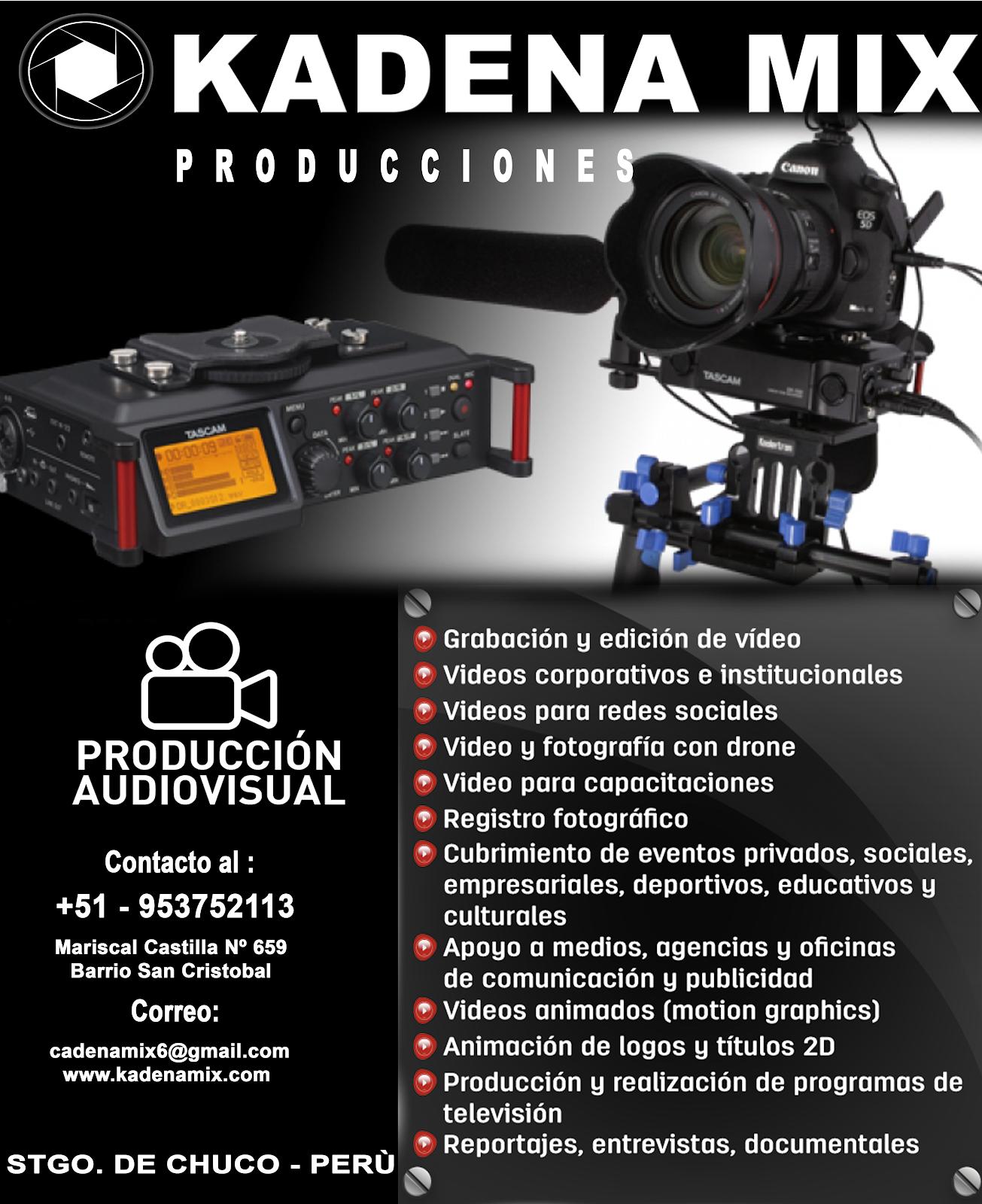 PRODUCTORA AUDIO VISUAL