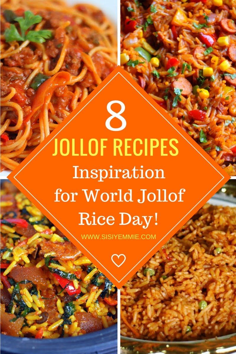 WORLD JOLLOF RICE DAY AUG 21