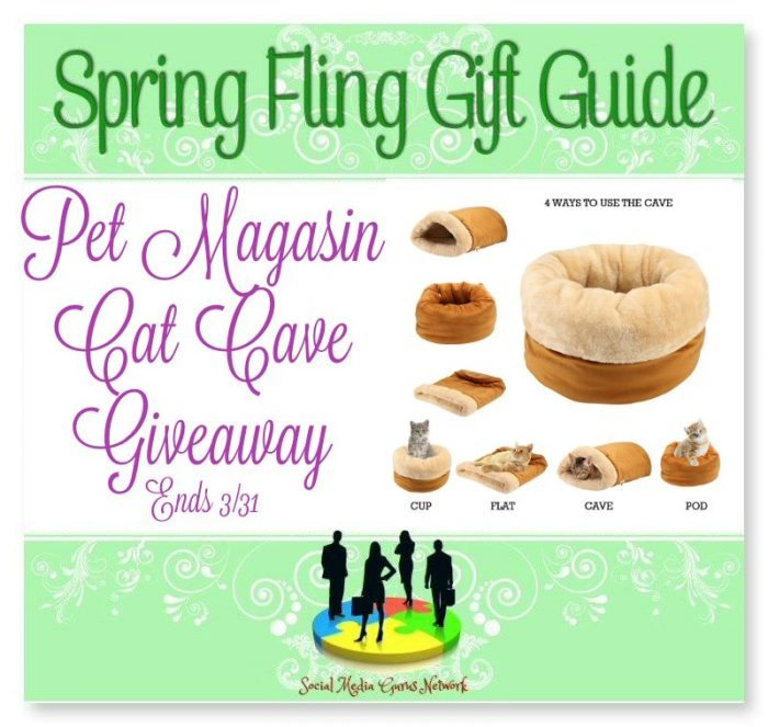 Cat Cave Giveaway Spring Fling Guide