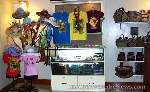 small souvenir shop