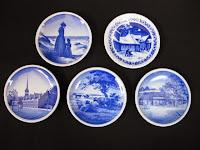 ロイヤルコペンハーゲン デンマークの名所 小皿