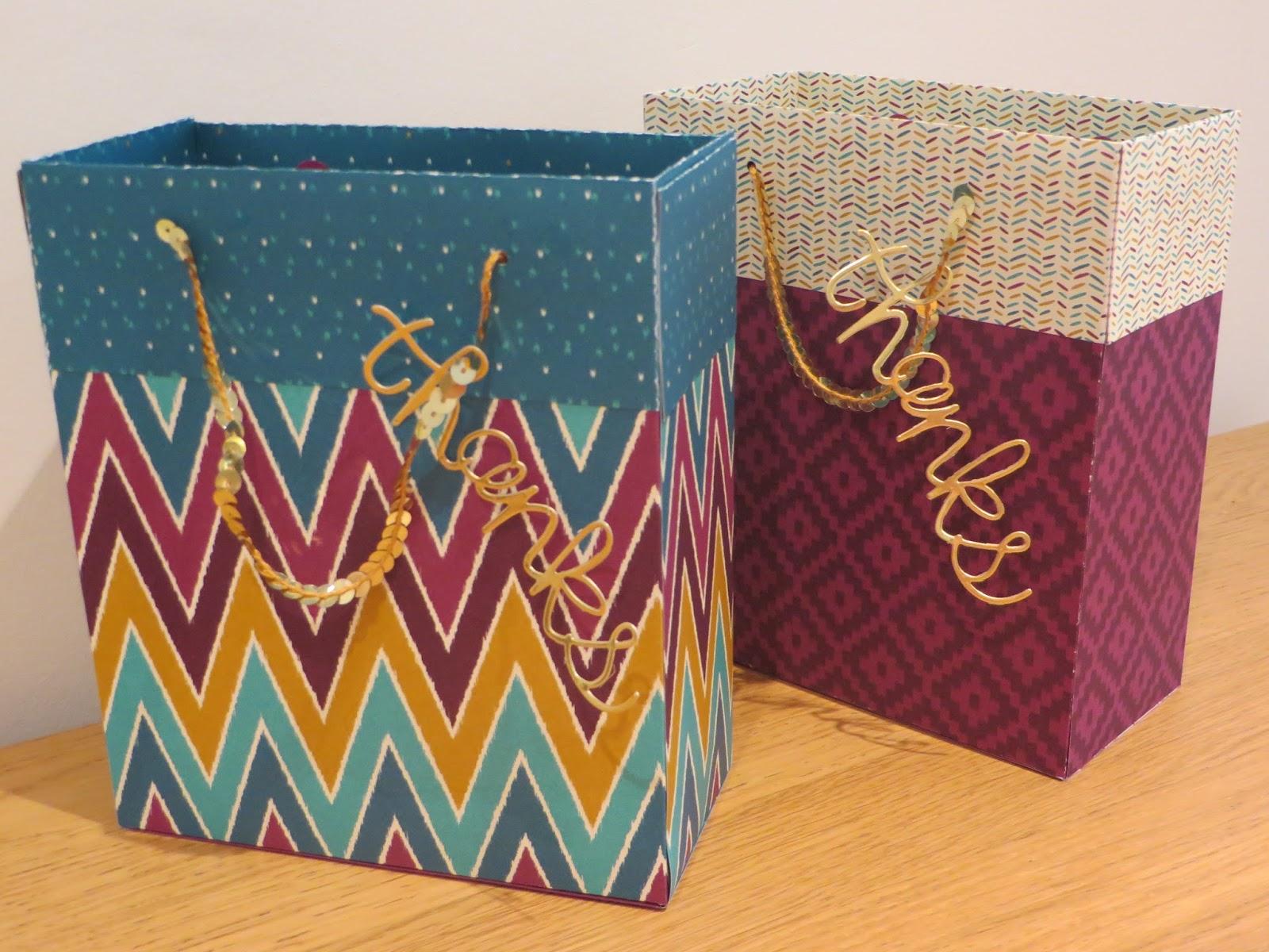 CraftyCarolineCreates: Large Gift Bag Tutorial with Bohemian DSP ...