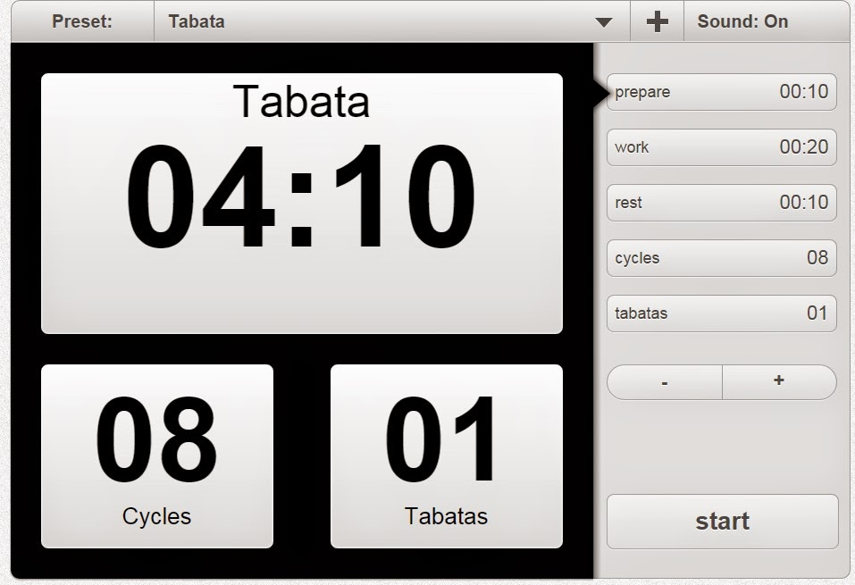 Tabata Timer - Workout Interval Timer - HIIT