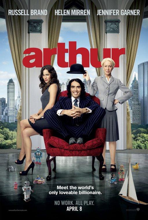 Arthur 2011 film poster