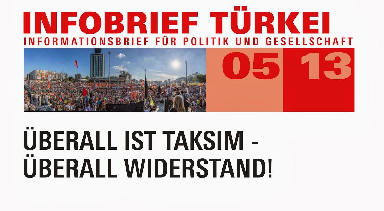 Infobrief Türkei 05/2013