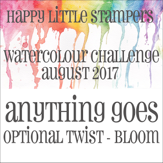 HLS August Watercolour Challenge - Bloom до 31/08