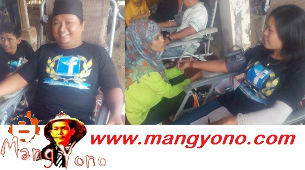 Partisifasi FBS di acara Santunan Anak Yatim dan Donor darah  ( DORDAR )  di Pagaden Barat. Poto jepretan Kang Ian Susanto Facebooker Subang ( FBS )