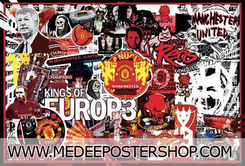LOGO Manchester United Poster