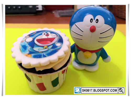 Doraemon cupcakes for birthday