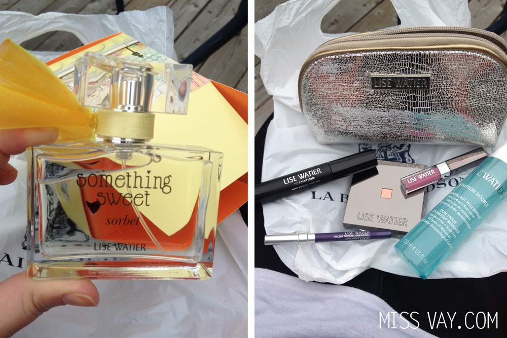 Lise Watier Achats Something Sweet Sorbet maquillage