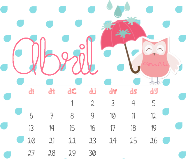Calendario Descargable Abril 2015