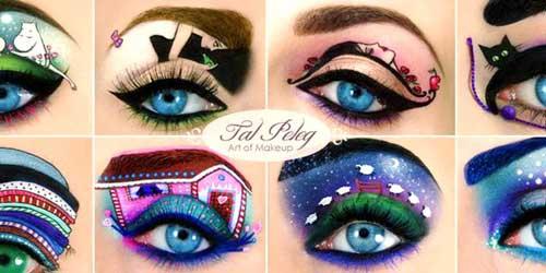 maquillajes de ojos eye arts