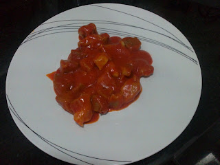 Magro con tomate
