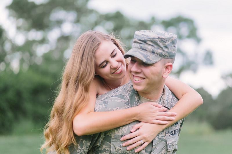 military engagement photos
