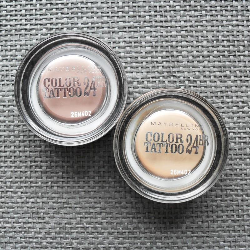 Czasami kosmetycznie creme de la creme maybelline color for Maybelline color tattoo creme de nude