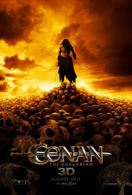 Conan the Barbarian new movie poster