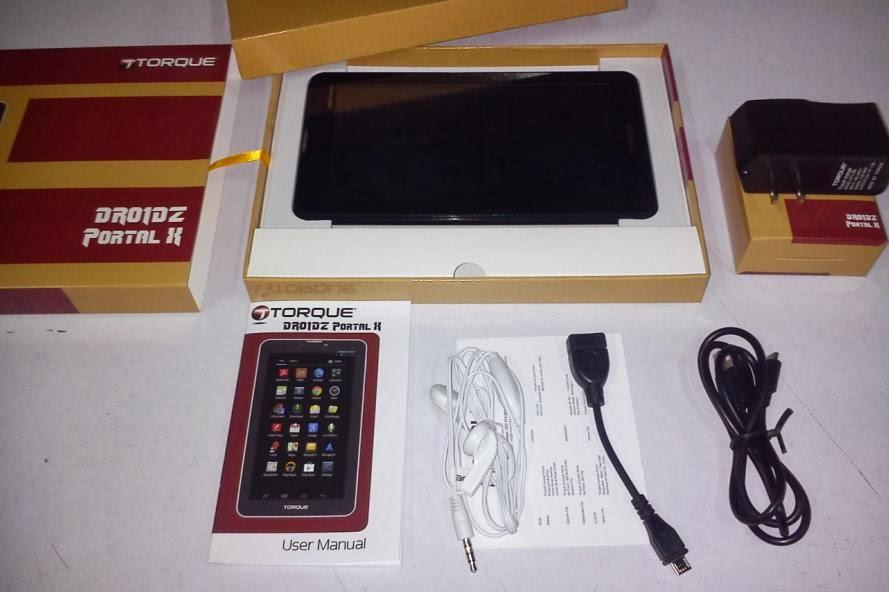 Torque Mobile Droidz Portal X Retail Package