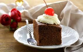 Torta de Chocolate y Cerezas