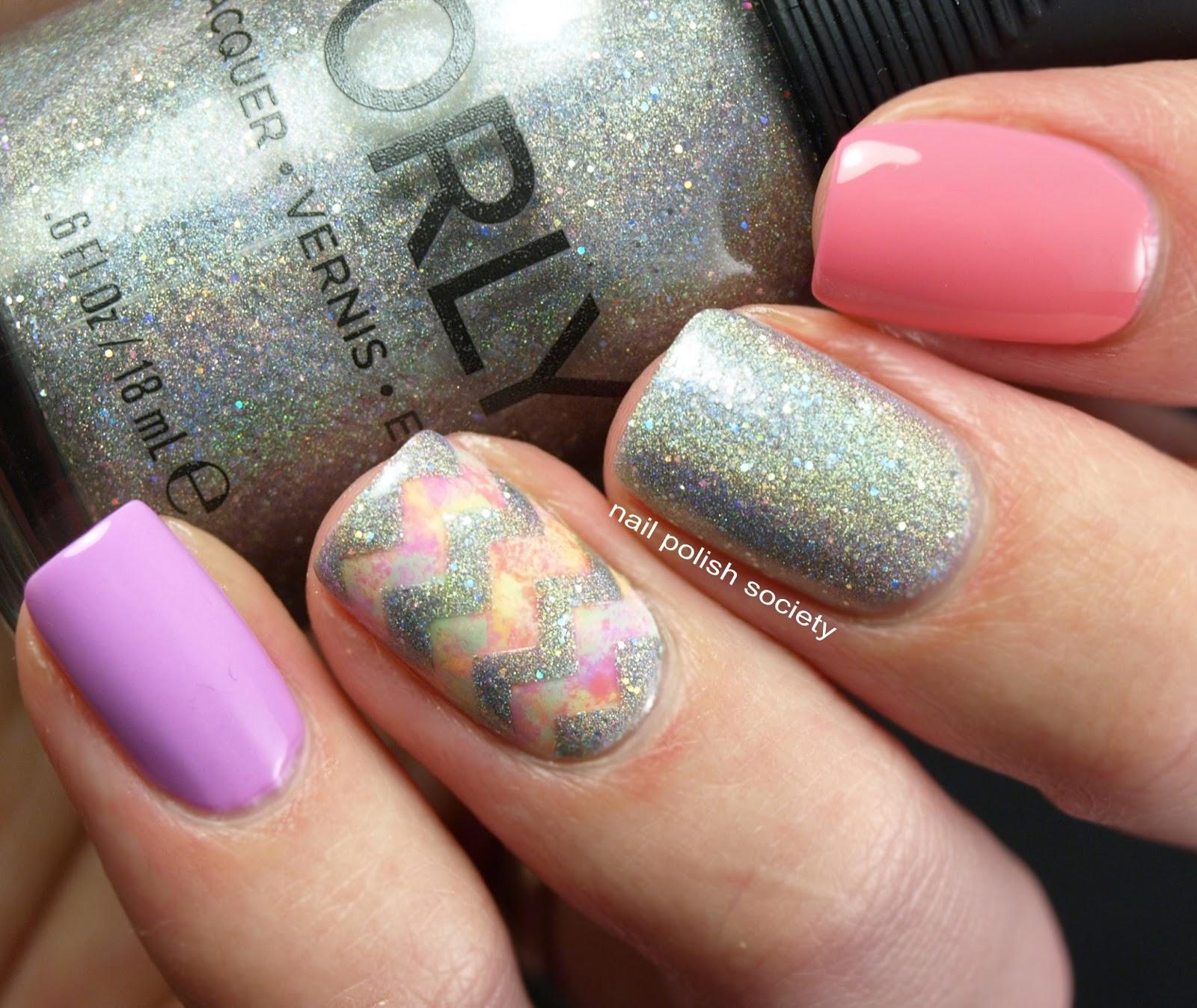 Nail Polish Society: Orly Mirrorball Springtime Skittle