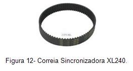 Correa sincronizadora XL240
