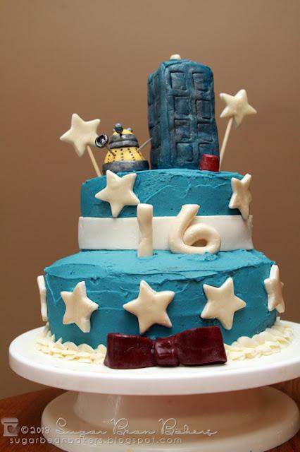 Easy Dalek Cake