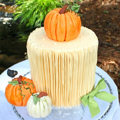 Pumpkin Cake Design