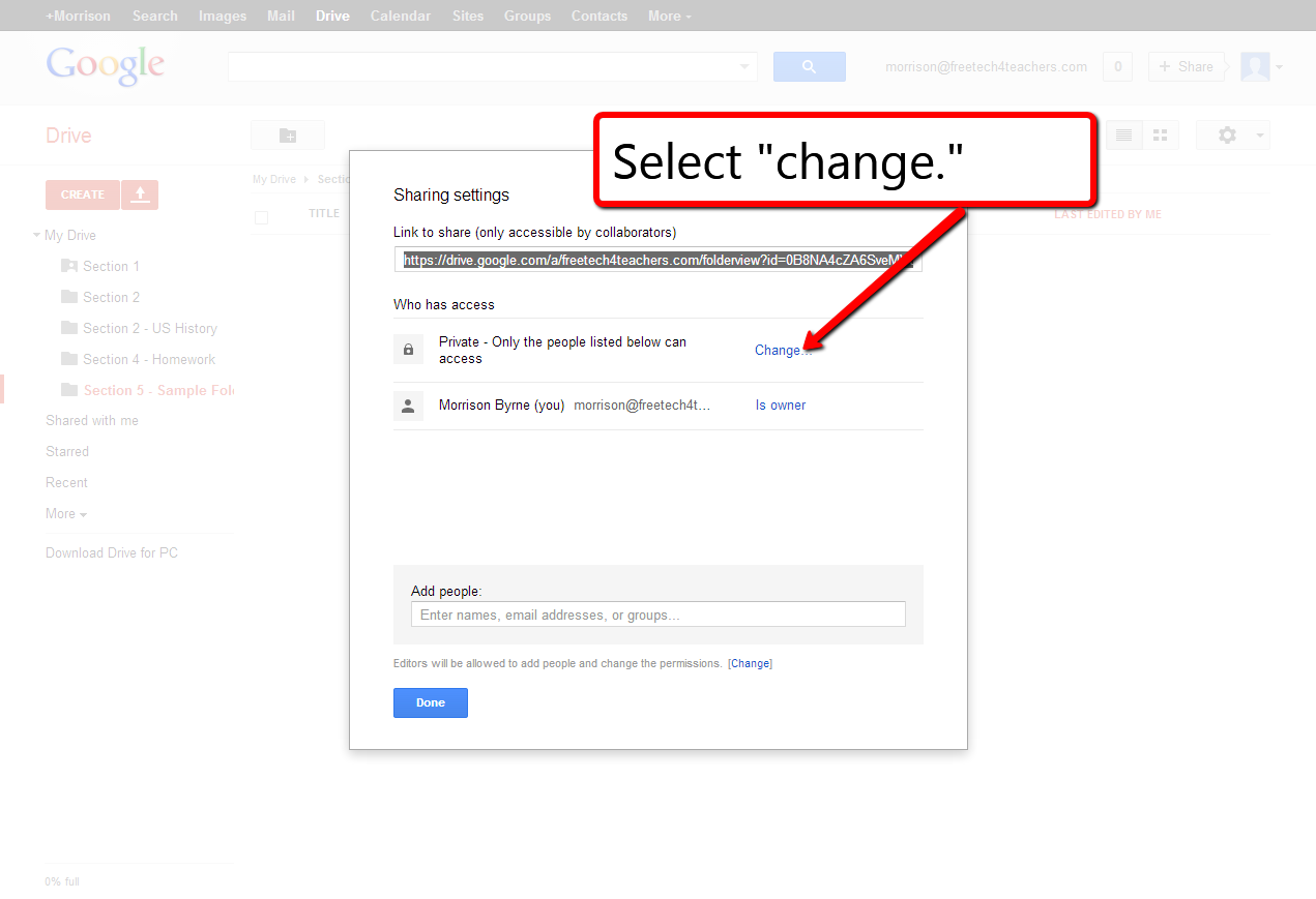 how to create google shared drive