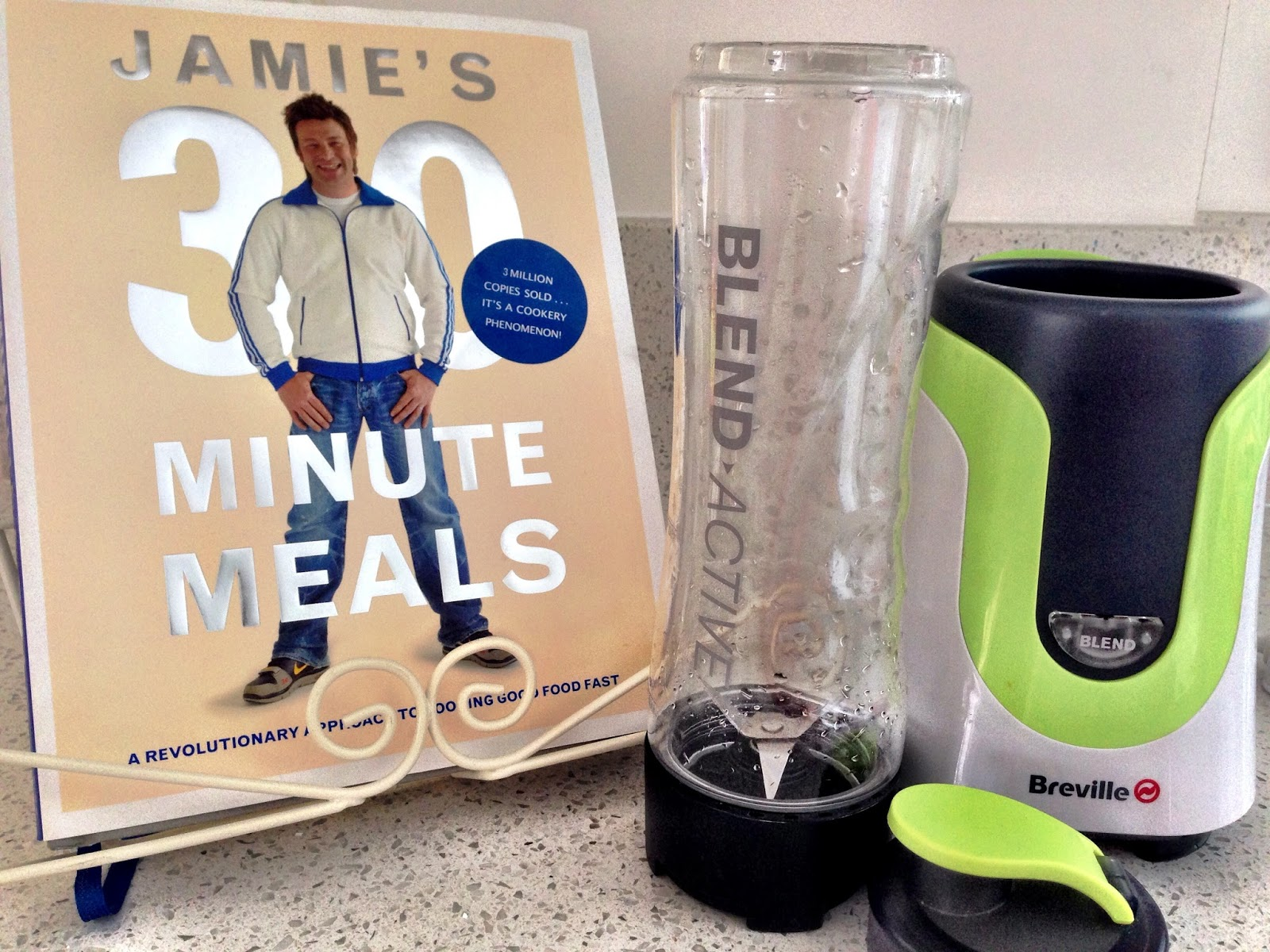 Jamie's 30 Minute Meals, Breville Blend Active
