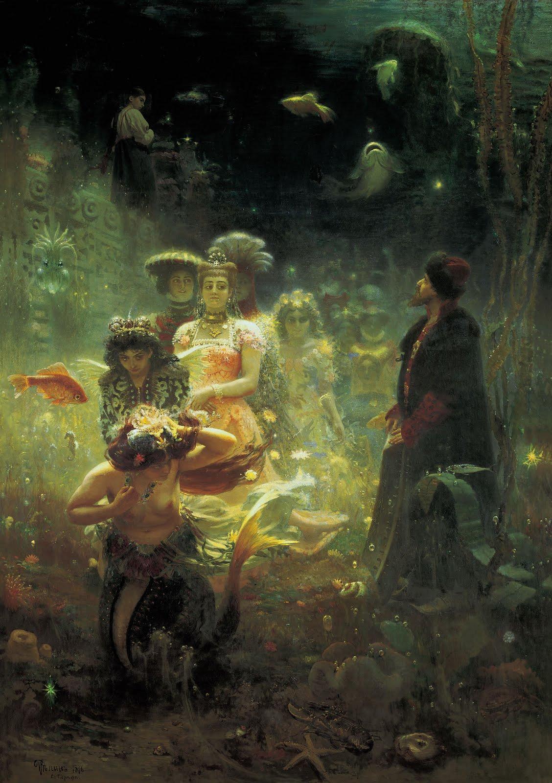 ilia repine painting