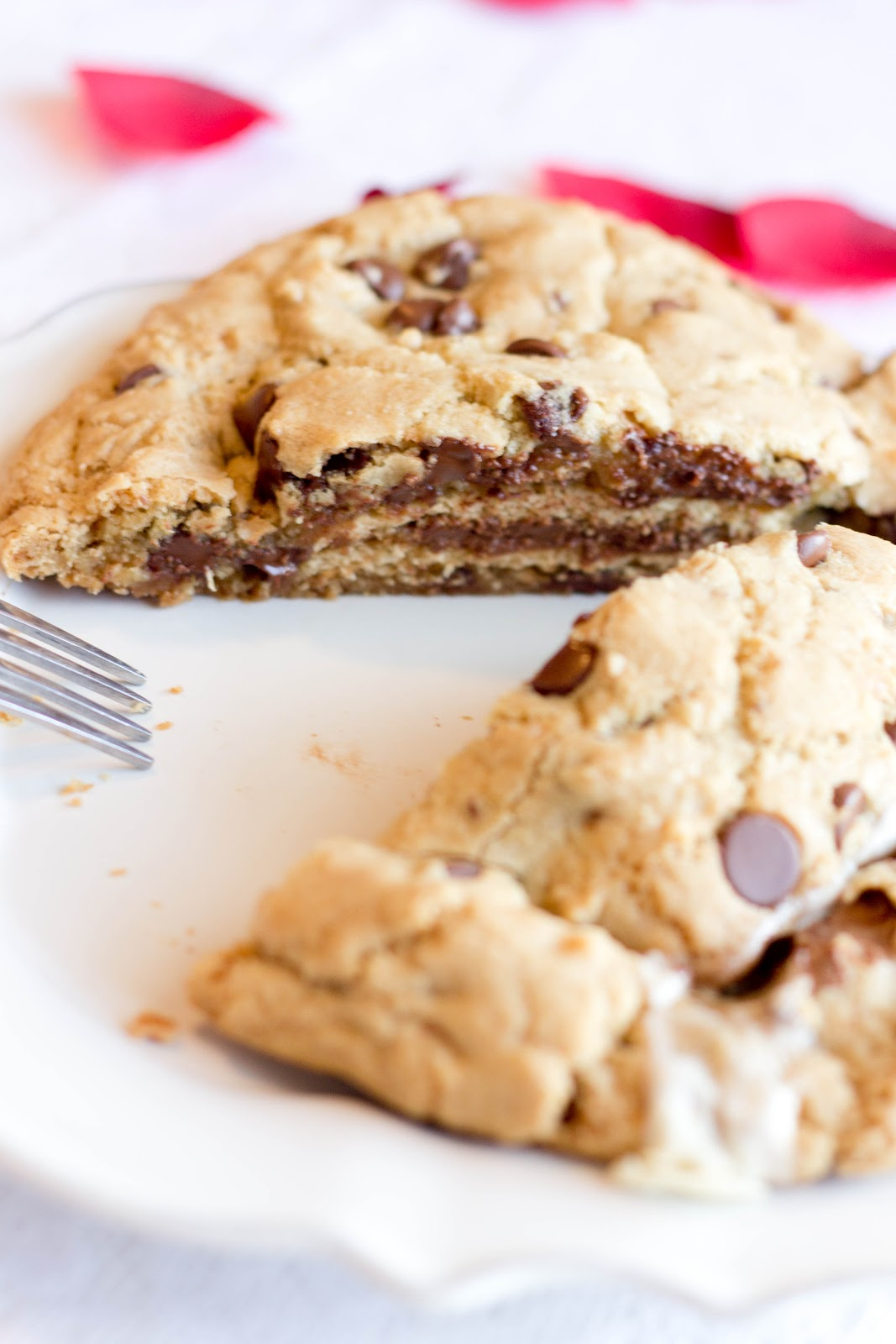 The Year of The Cookie: Giant S'mores Stuffed Chocolate Chip Cookies