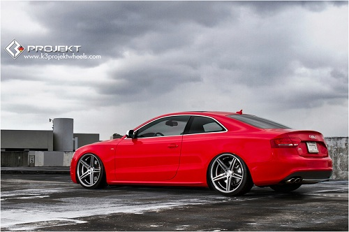2011 Audi S5 on 20-inch K3 Projekt Wheels