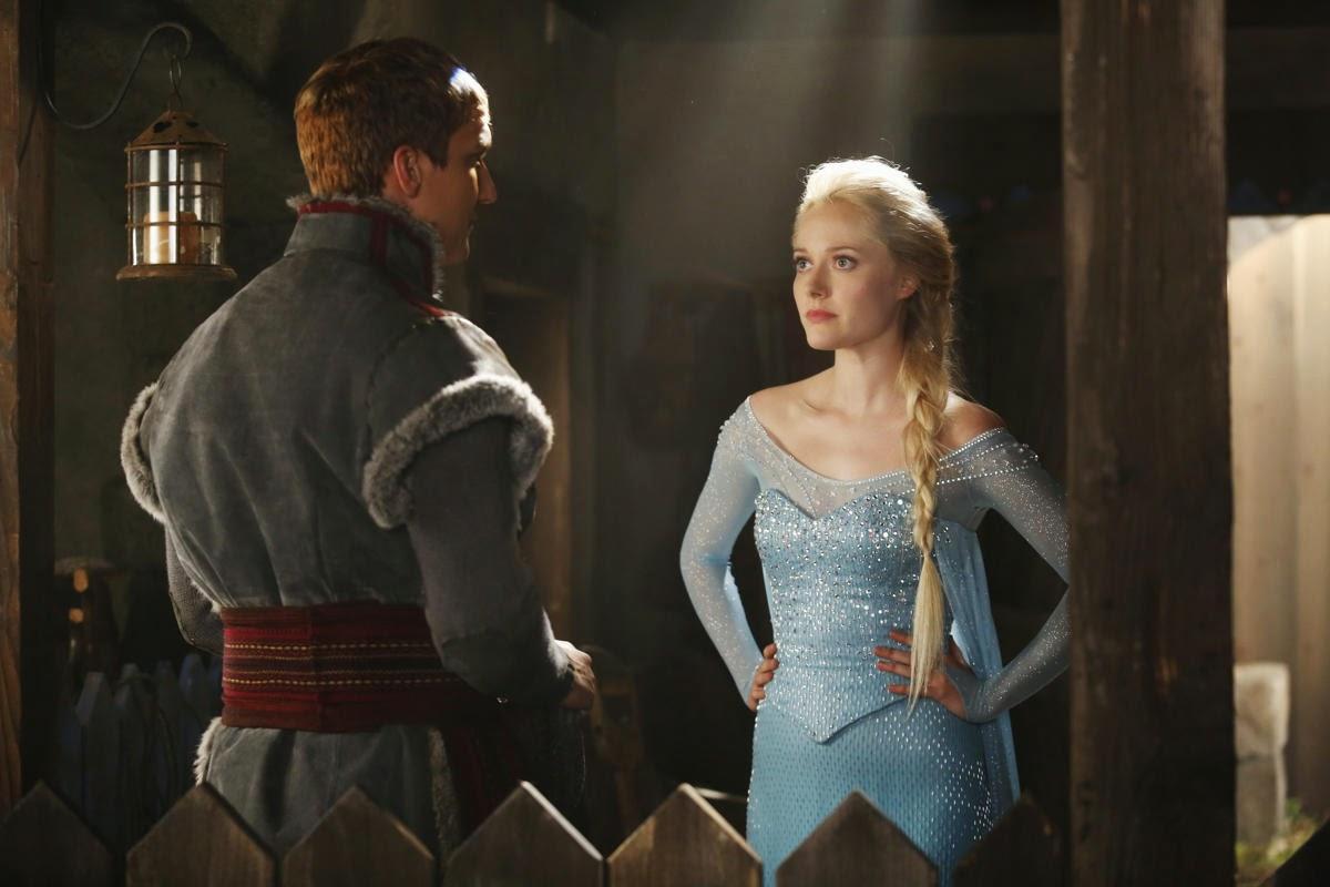 Once Upon a Time Season 4, Frozen, Frozen on Storybrooke