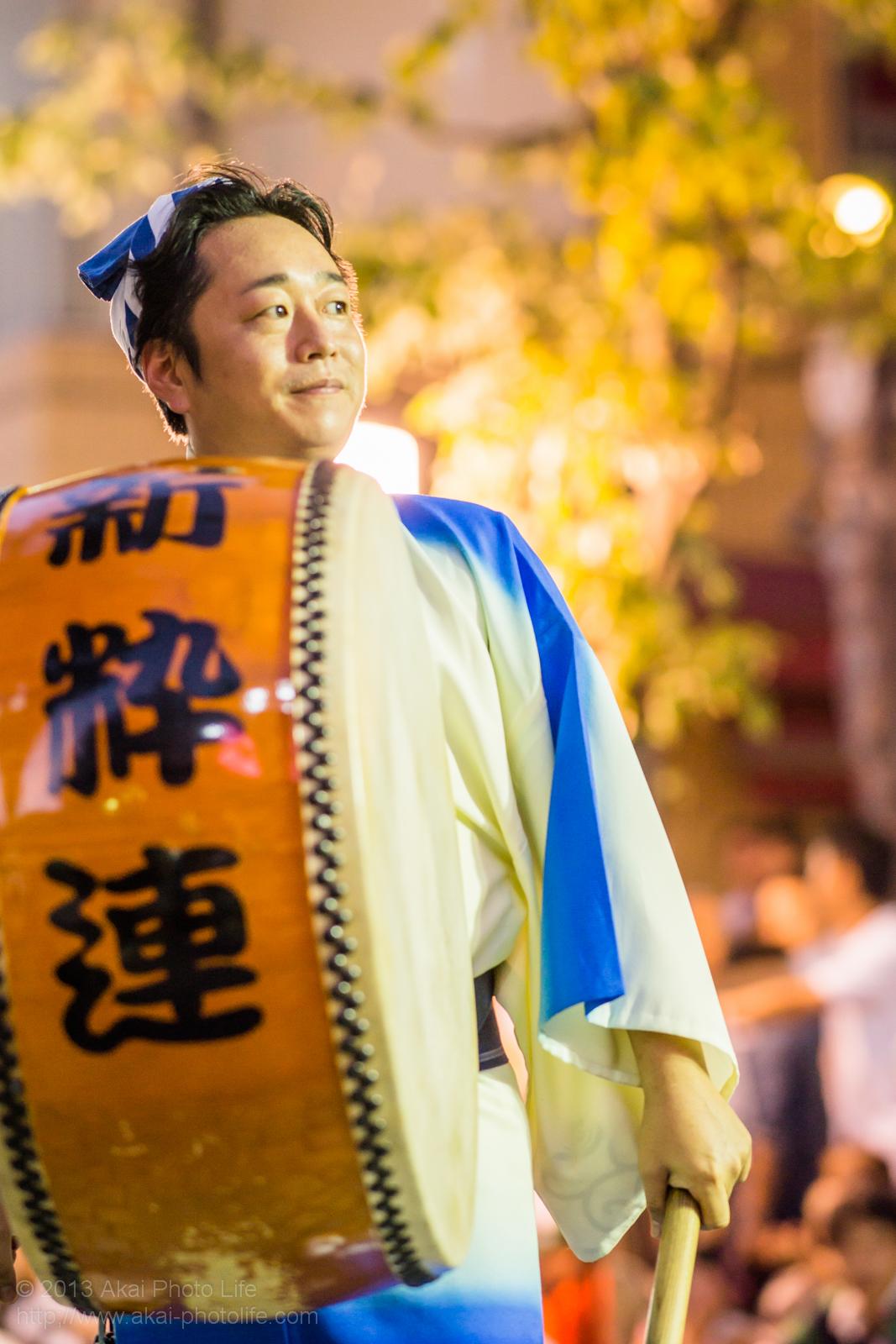 三鷹阿波踊り、新粋連の鳴り物